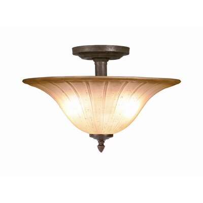 Broadmore 2-Light Semi Flush Mount