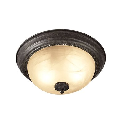 Calais 2-Light Flush Mount