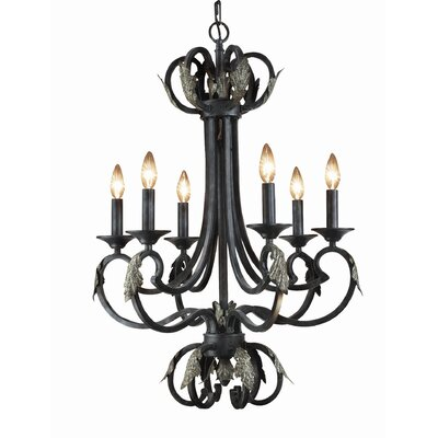 Easton 6-Light Candle-Style Chandelier