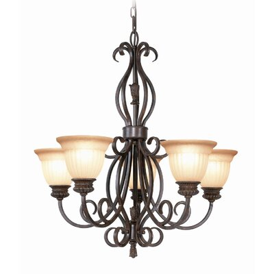 Fairhaven 5-Light Shaded Chandelier