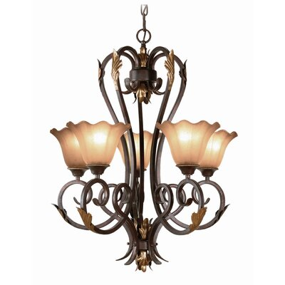 Harrington 5-Light Shaded Chandelier