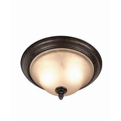 Harrington 2-Light Flush Mount