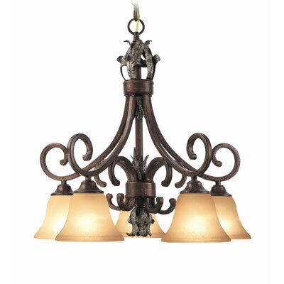Watlington 5-Light Shaded Chandelier