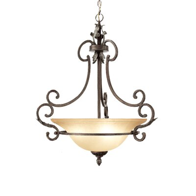 Hawthorne 3-Light Foyer Pendant