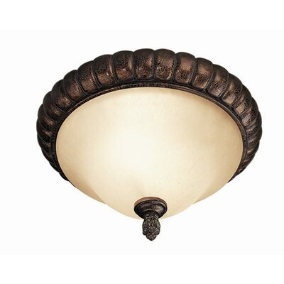 Hawthorne 2-Light Flush Mount