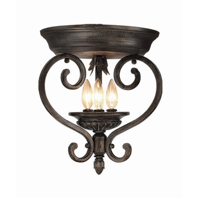 Hawthorne 3-Light Flush Mount