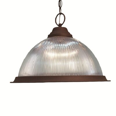 Basic 1-Light Pendant Finish: Antique Bronze