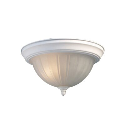 Basic 3-Light Flush Mount Finish: White