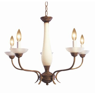 Interior Complements 5-Light Candle-Style Chandelier