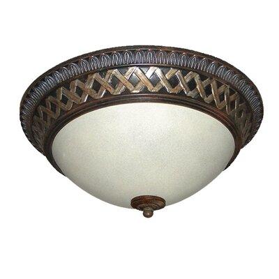 Interior Complements 2-Light Flush Mount