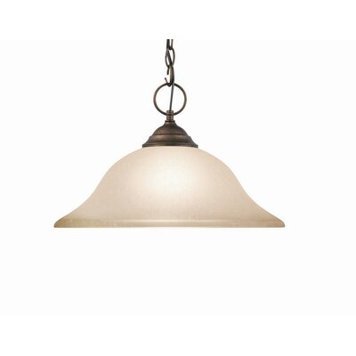 Anson 1-Light Pendant Finish: Marbled Bronze