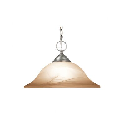 Anson 1-Light Pendant Finish: Satin Nickel