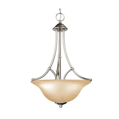 Anson 3-Light Pendant Finish: Satin Nickel
