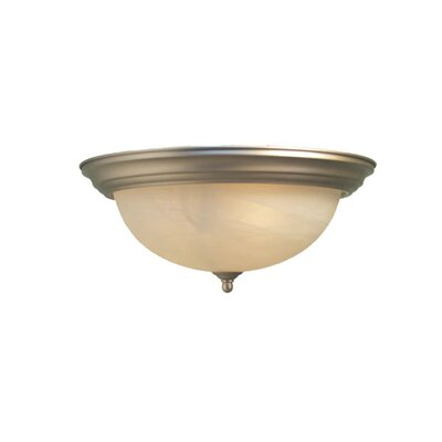 Anson 1-Light Flush Mount Finish: Satin Nickel