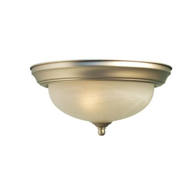 Anson 3-Light Flush Mount Finish: Satin Nickel