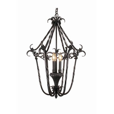 Willingham 3-Light Foyer Pendant