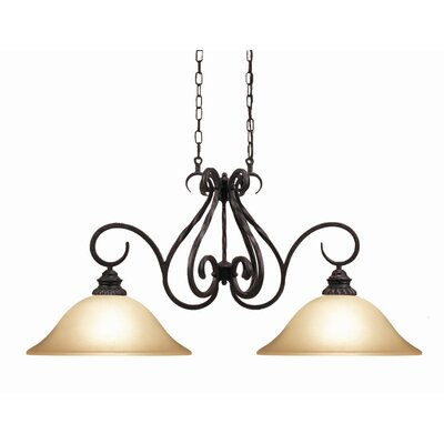 Willingham 2-Light Kitchen Pendant Light