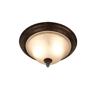 Rosedale 2-Light Flush Mount