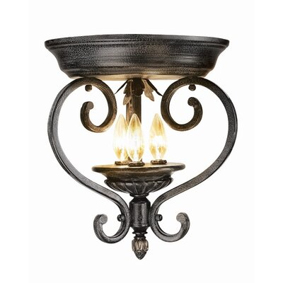 Willingham 3-Light Flush Mount