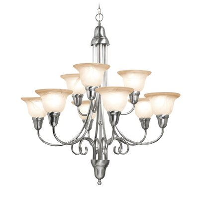 Willhite 9-Light Shaded Chandelier