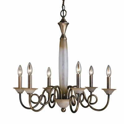 Mayfield 6-Light Candle-Style Chandelier