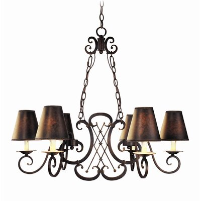 Montgomery 6-Light Shaded Chandelier