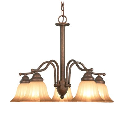 Morgan Park 5-Light Shaded Chandelier
