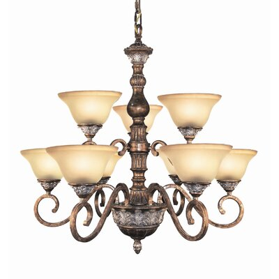 Worthington 9-Light Candle-Style Chandelier