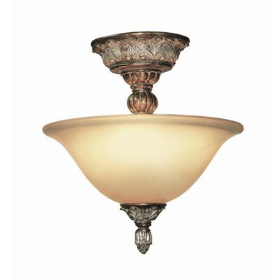Worthington 2-Light Semi Flush Mount