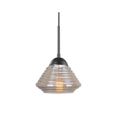 Queen Style 1-Light Mini Pendant Finish: Metallic Bronze