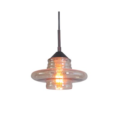 Transference 1-Light Mini Pendant Finish: Metallic Bronze