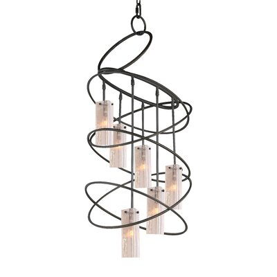Loop 6-Light Shaded Chandelier