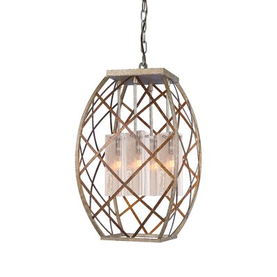Braid 4-Light Foyer Pendant