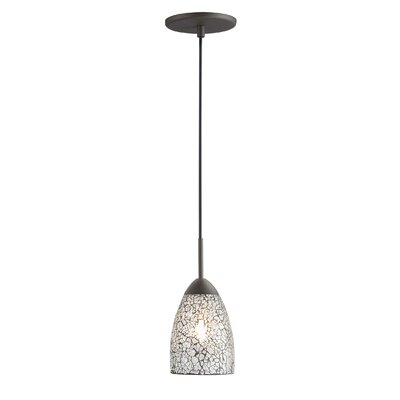 Beaupre 1-Light Pendant Shade Color: Clear Mosaic