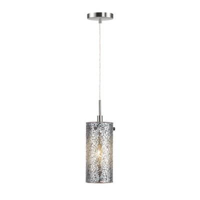 Scalia 1-Light Pendant Finish: Satin Nickel