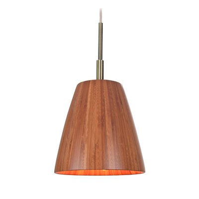 Sorg Adnap 1-Light Mini Pendant Finish: Classic Brass