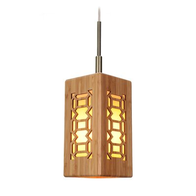 Light House Triune 1-Light Pendant I Finish: Classic Brass