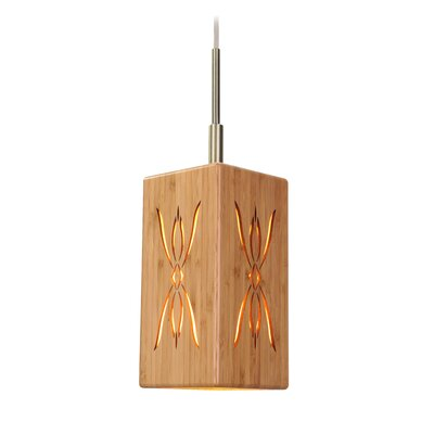 Light House Serymmetry 1-Light Pendant II Finish: Classic Brass