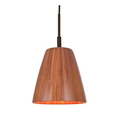 Sorg Adnap 1-Light Mini Pendant Finish: Metallic Bronze
