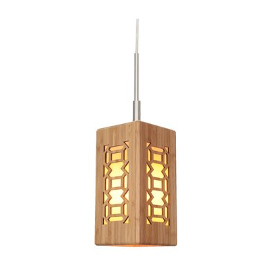 Light House Triune 1-Light Pendant I Finish: Satin Nickel