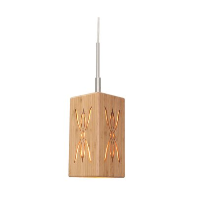 Light House Serymmetry 1-Light Pendant II Finish: Satin Nickel