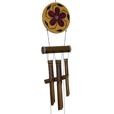 Flower Harmony Bamboo Wind Chime 286H