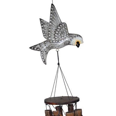 Owl Bamboo Wind Chime 187O