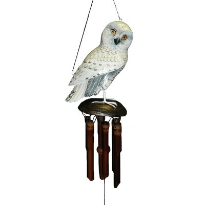 Snowy Owl Wind Chime CH175SO