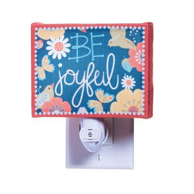 Gift Be Joyful Canvas Night Light