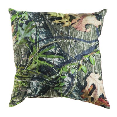 Mossy Oak Burlap Throw Pillow