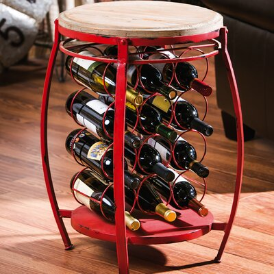 12 Bottle Floor Wine Rack