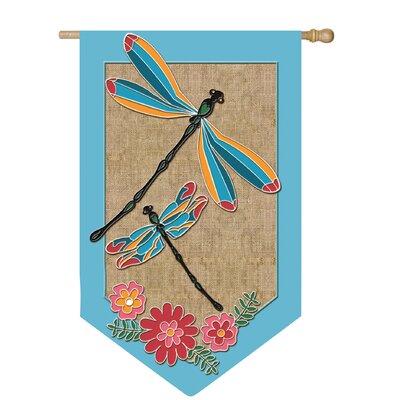 Dragonflies Garden Flag 13B3247
