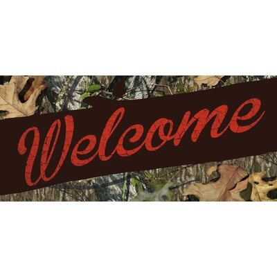Mossy Oak Welcome Sassafras Switch Doormat