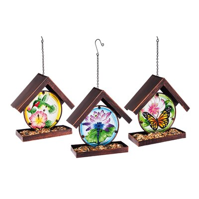 Serene Dragonfly Birdfeeder (Set of 3) 2BF680